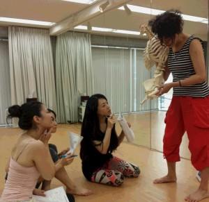 ダンサーの為の機能解剖学(講師/田村裕子)